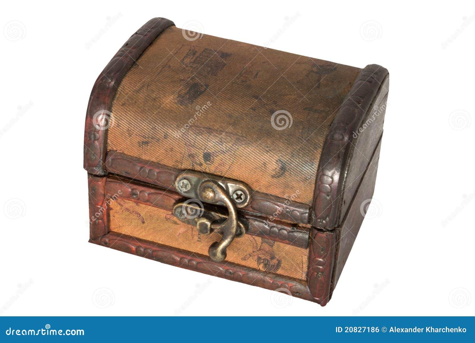 Coffre de trésor antique