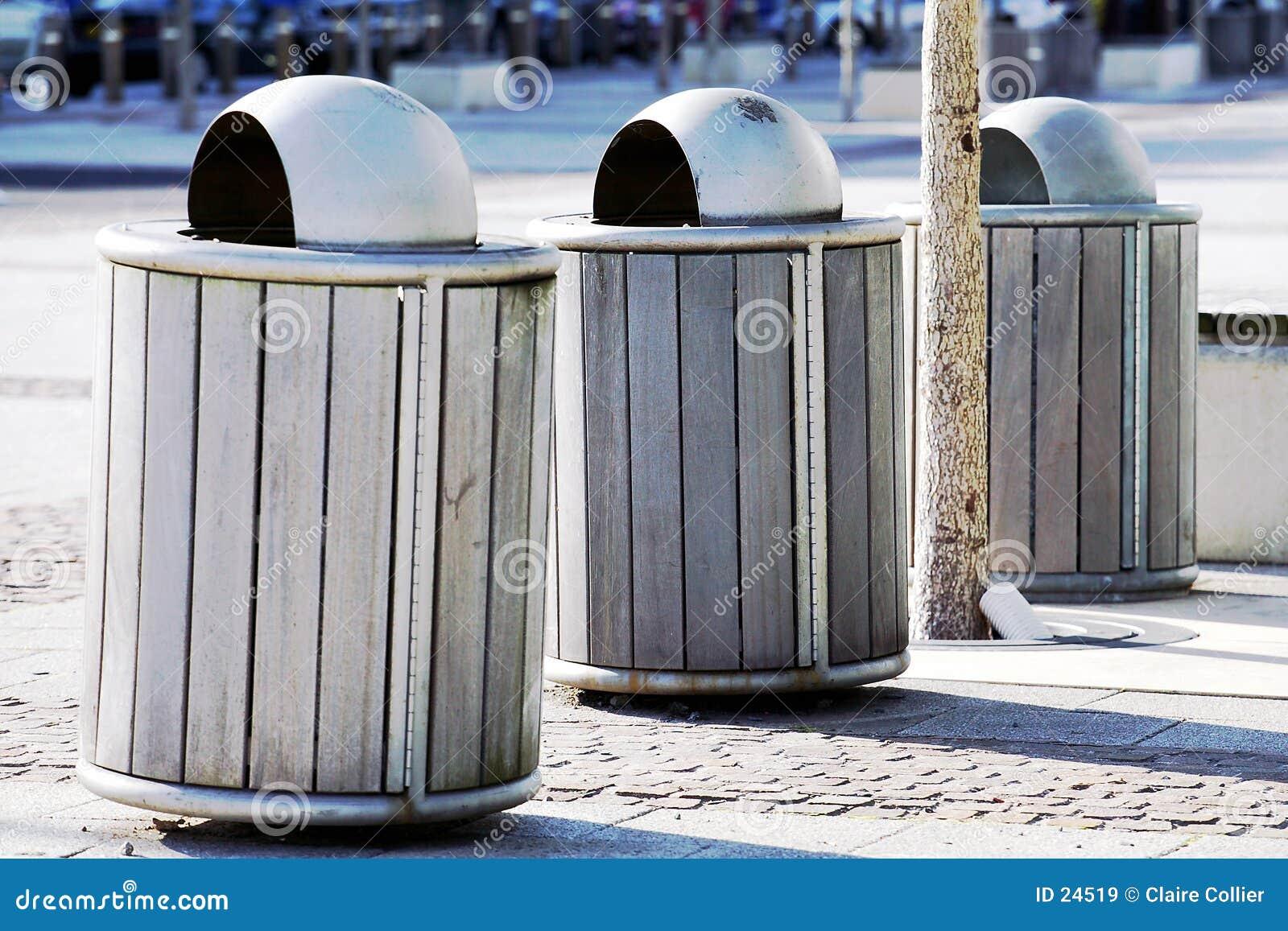 Coffres de déchets