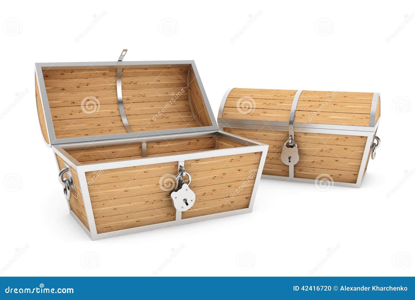 Cofres del tesoro de madera viejos del pirata foto de archivo imagen de rinda antiguo 42416720 - Fotos en madera ...