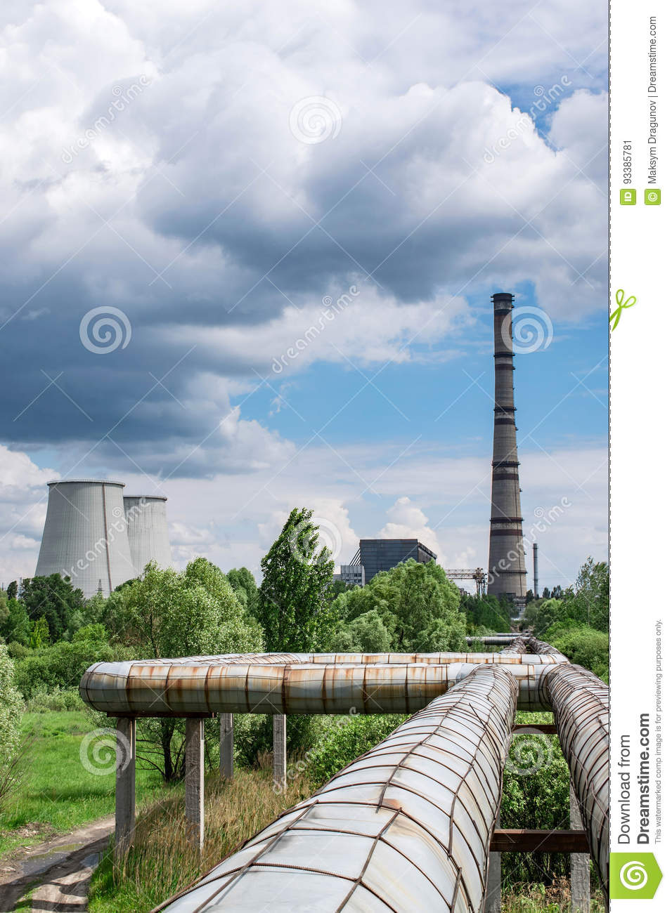 cogeneration plant Photo: a typical coal-fired power plant  cogeneration (the alternative name for chp) simply means that the electricity and heat are made at the same time.