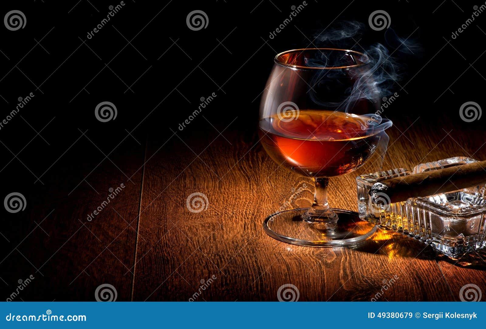 Cognac en sigaar