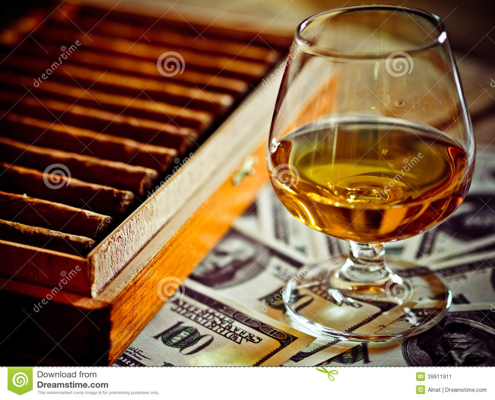 Cognac en sigaren