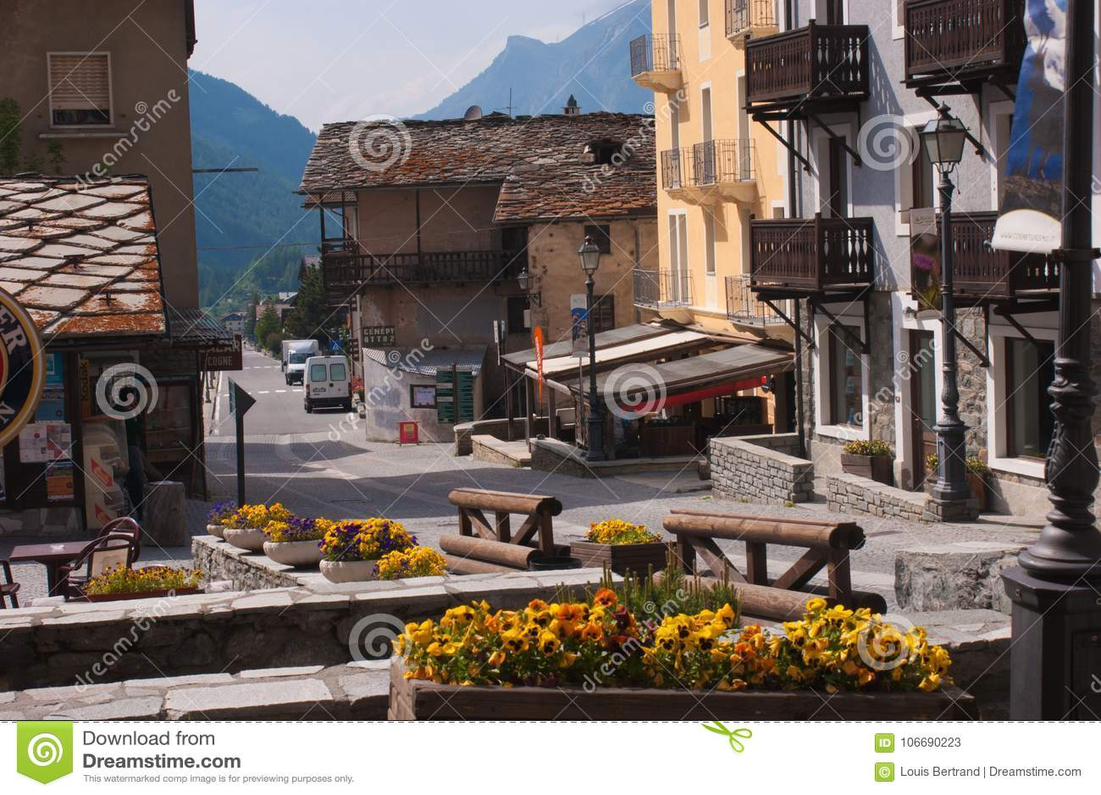 Cogne, val του aosta, Ιταλία