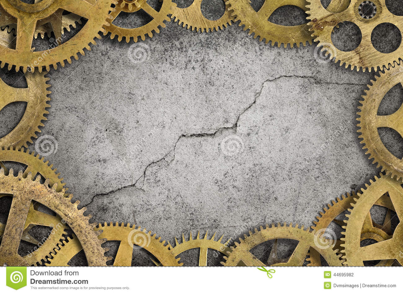 Cogs Border Stock Photo Image Of Machine Border Wall