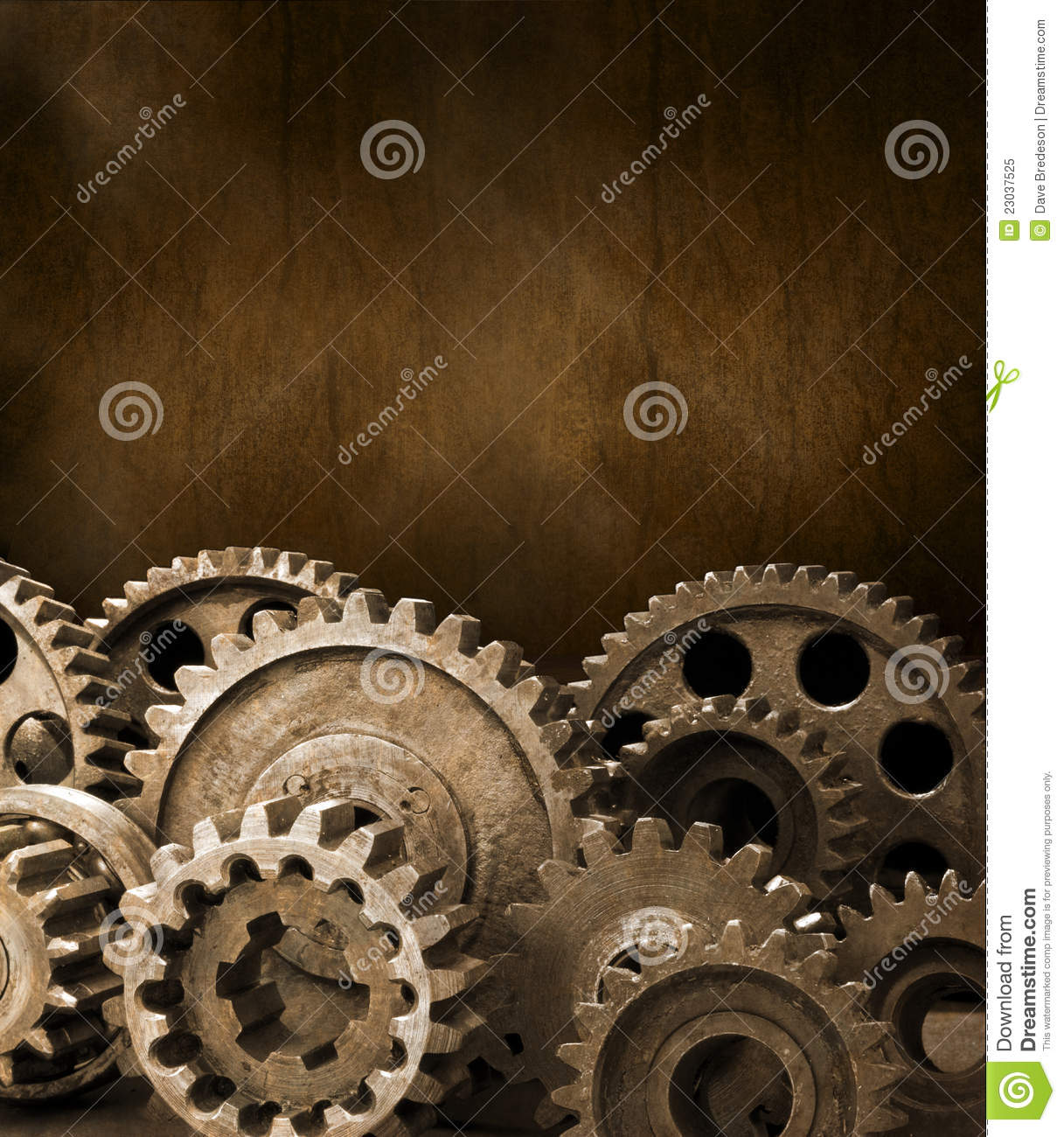 Cogs Gears Brown Background Royalty Free Stock Photo ...