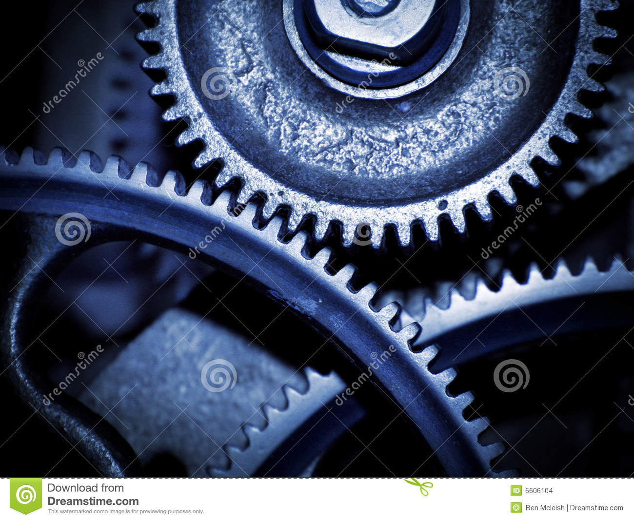 cogs of the machine