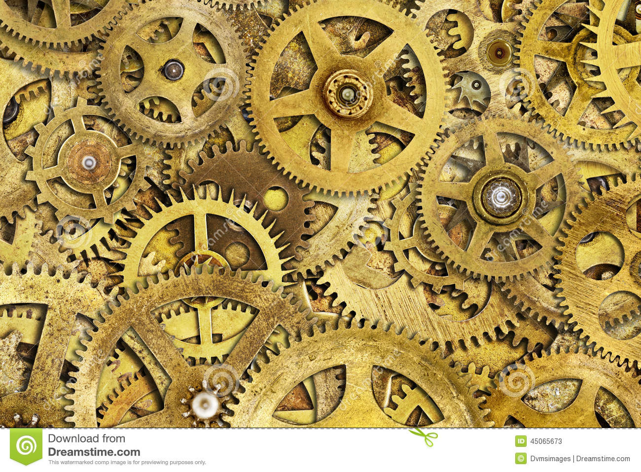 Cogs Machine Stock Photo - Image: 45065673