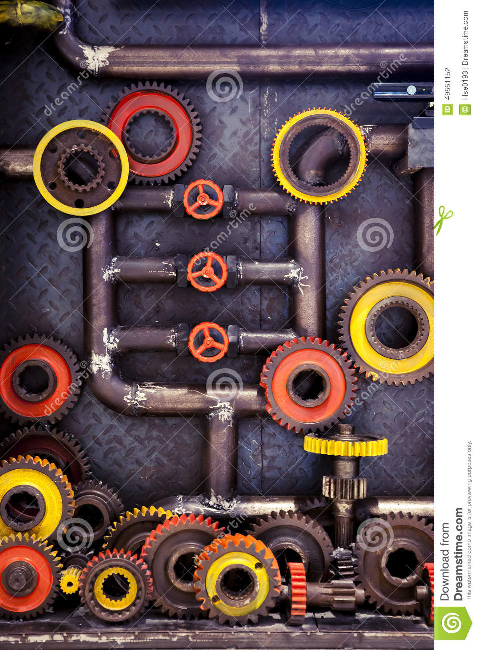 Cogs and pipes