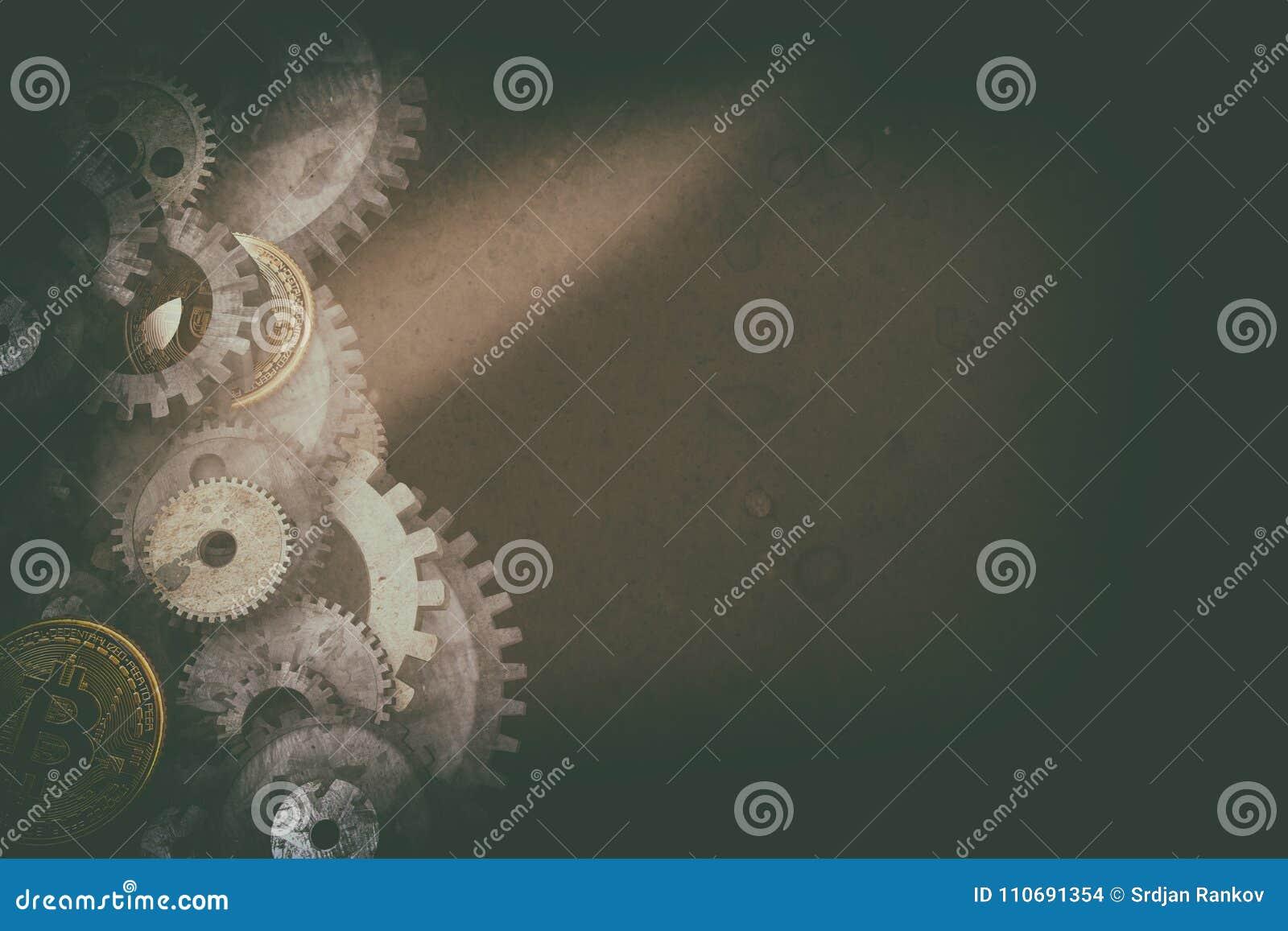 Cogwheels i przekładnia mechanizm
