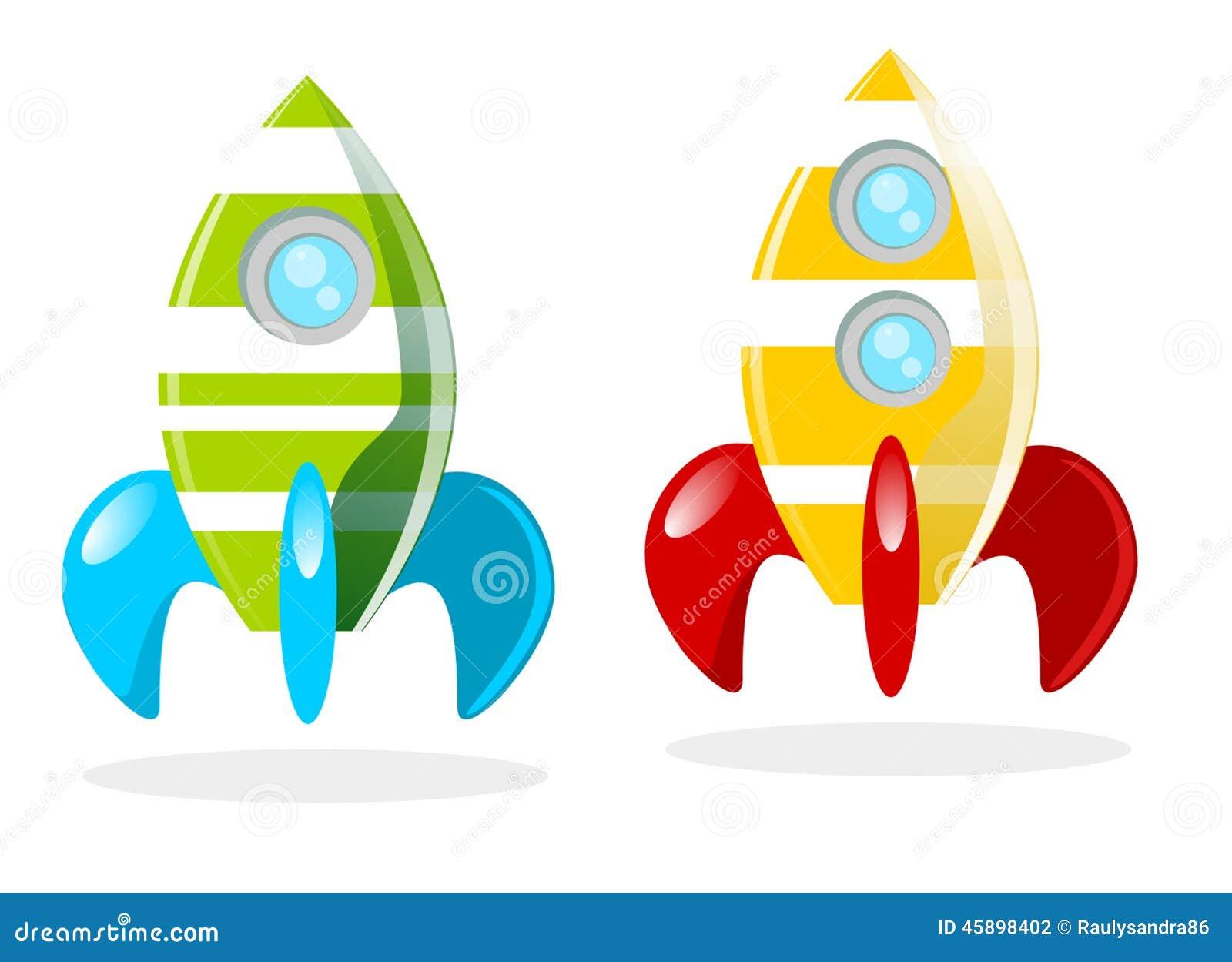 cohetes stock illustration image 45898402 rocket ship clip art free rocket ship clipart printable