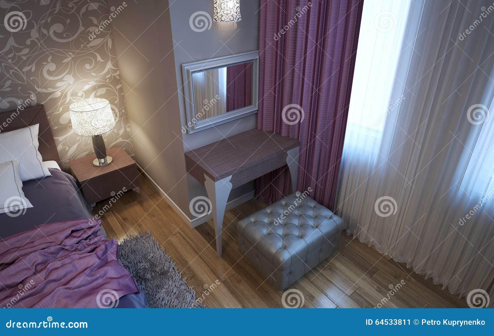 coiffeuse dans la chambre coucher de style d art dco