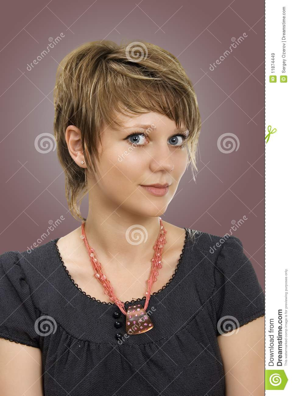 Coiffure 7 Stock Image Image Of Hairstyle Color Holding 11874449