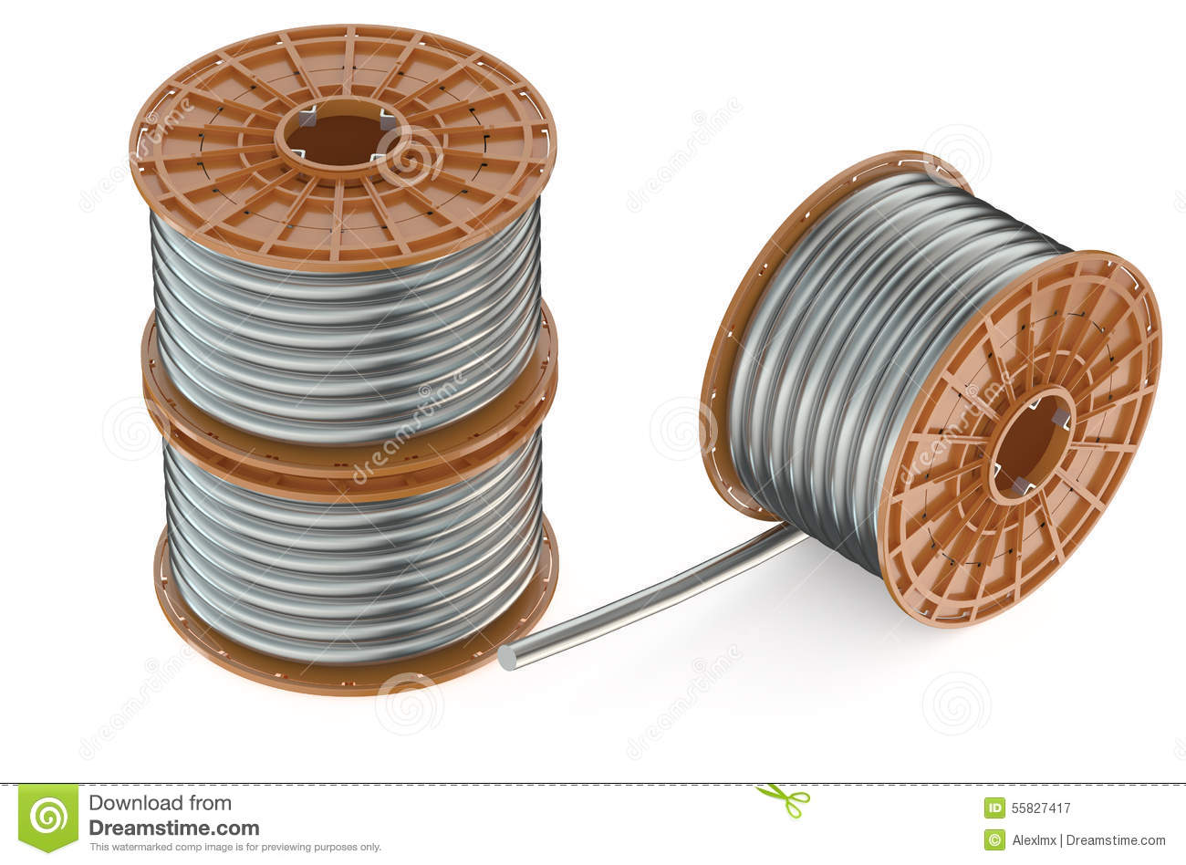 Coils Stock Illustrations 824 Vectors Of Copper Wire Are Commonly Used In Electrical Inductors Clipart Dreamstime