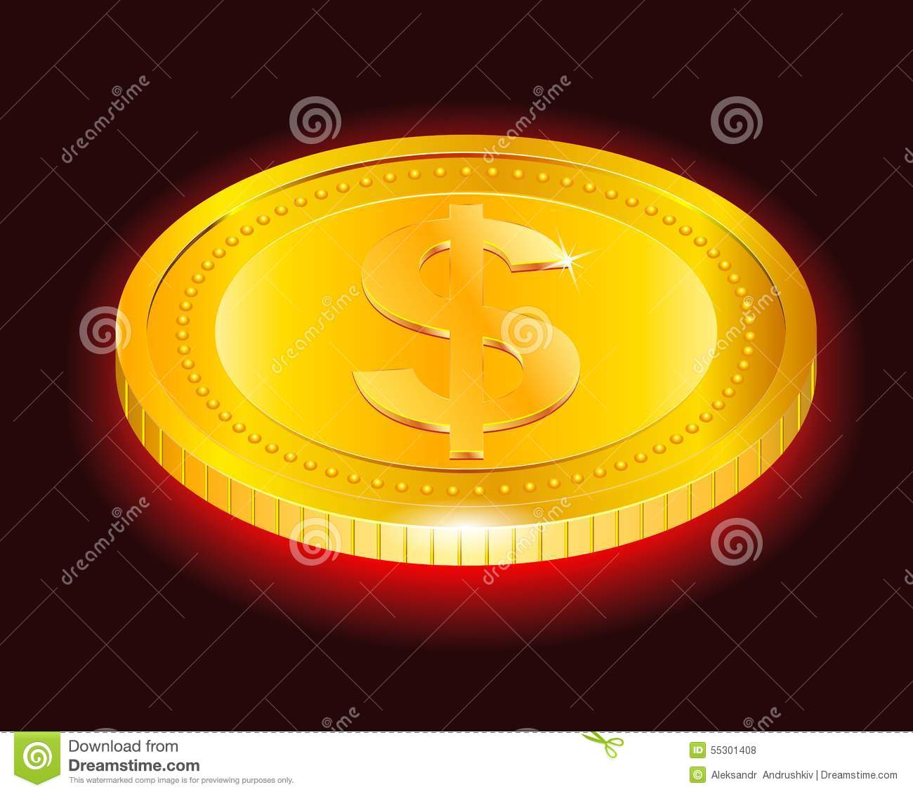 gold coins black background - photo #27