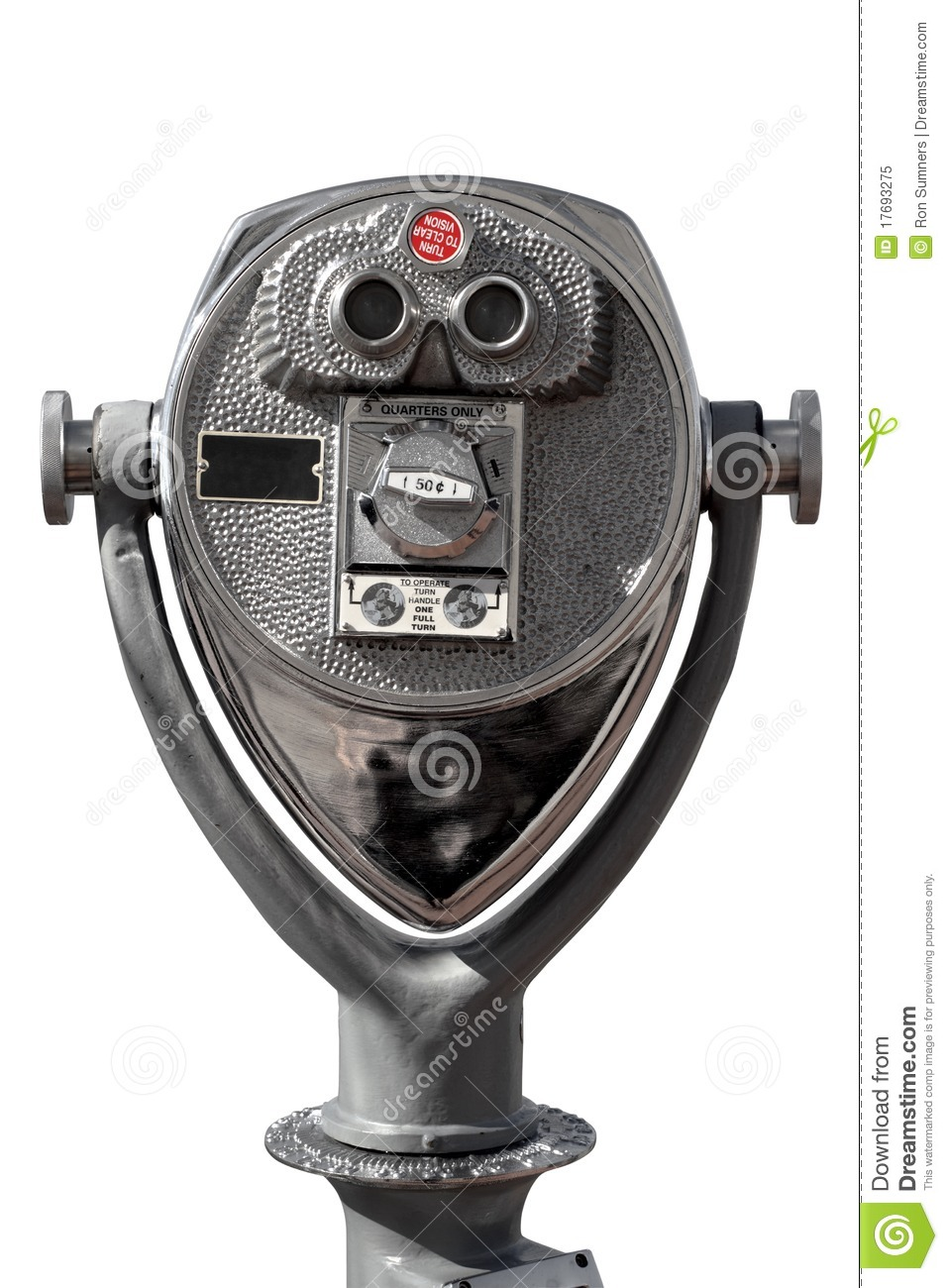 Coin Operated Binoculars Royalty Free Stock Photo Image