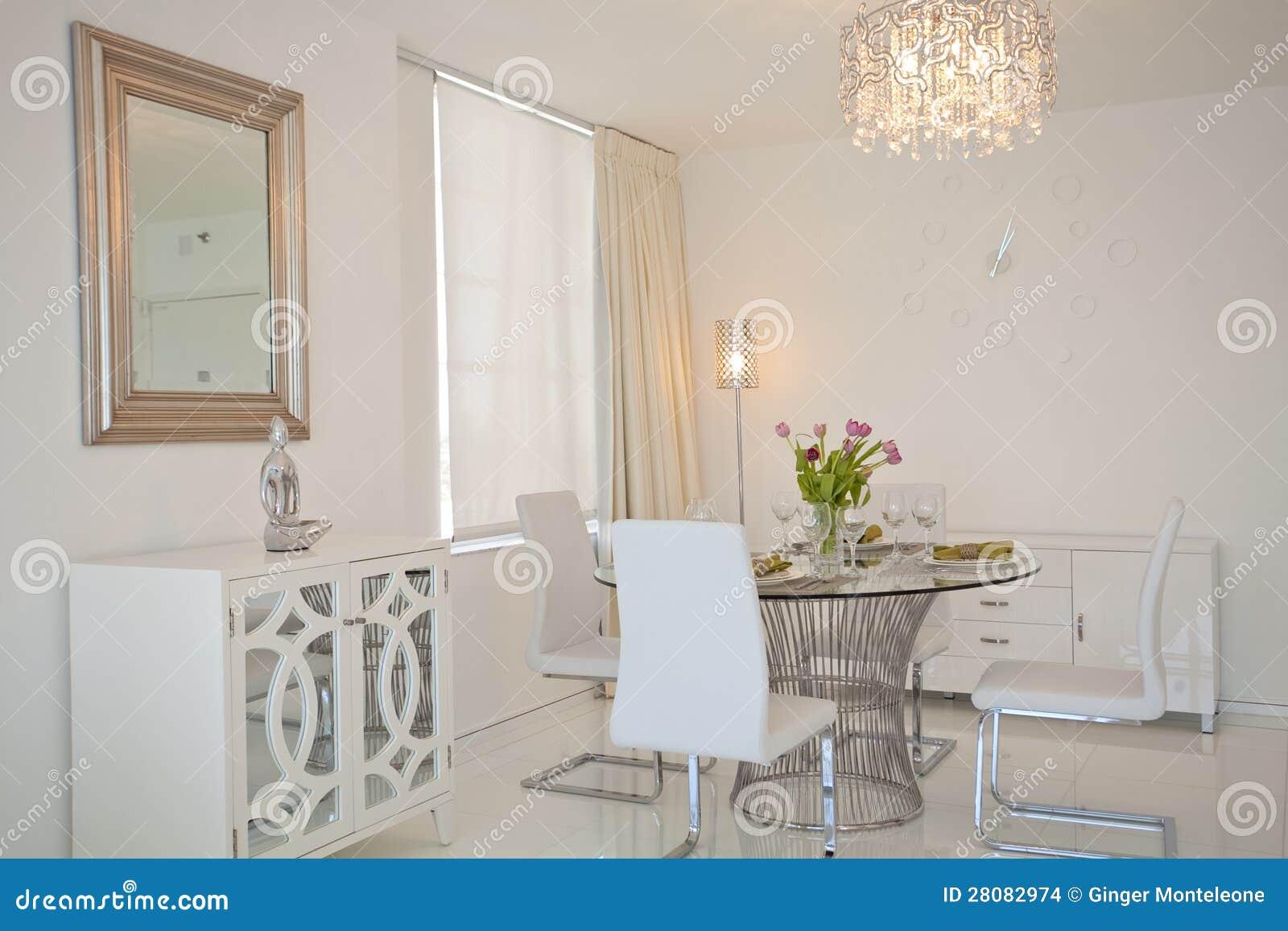 coin repas de cuisine photo stock image du table moderne. Black Bedroom Furniture Sets. Home Design Ideas