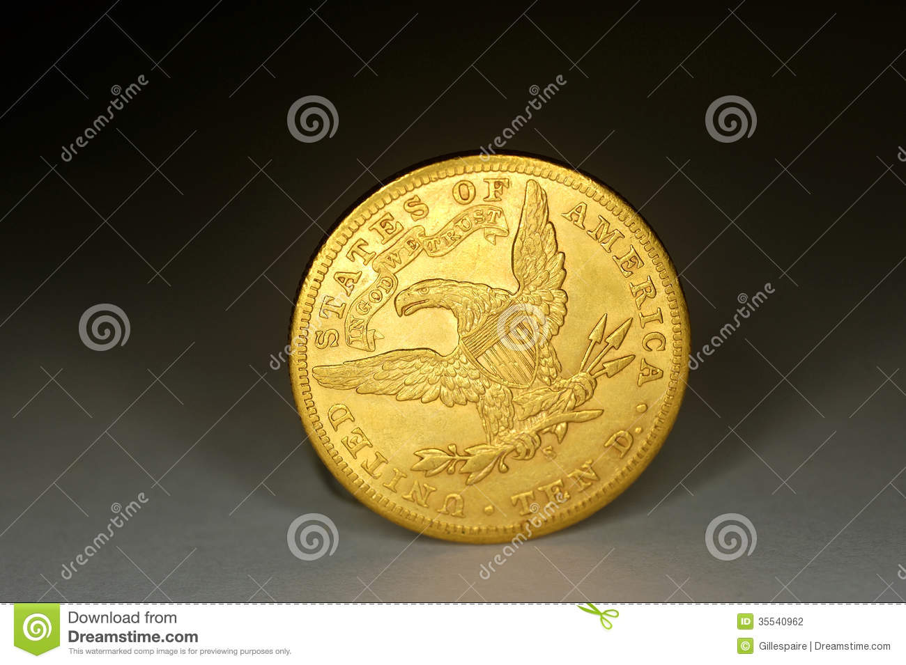 gold coins black background - photo #16