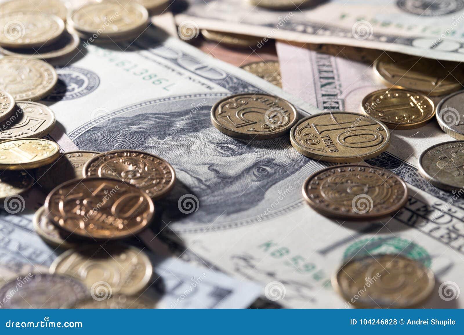 Coins dollar