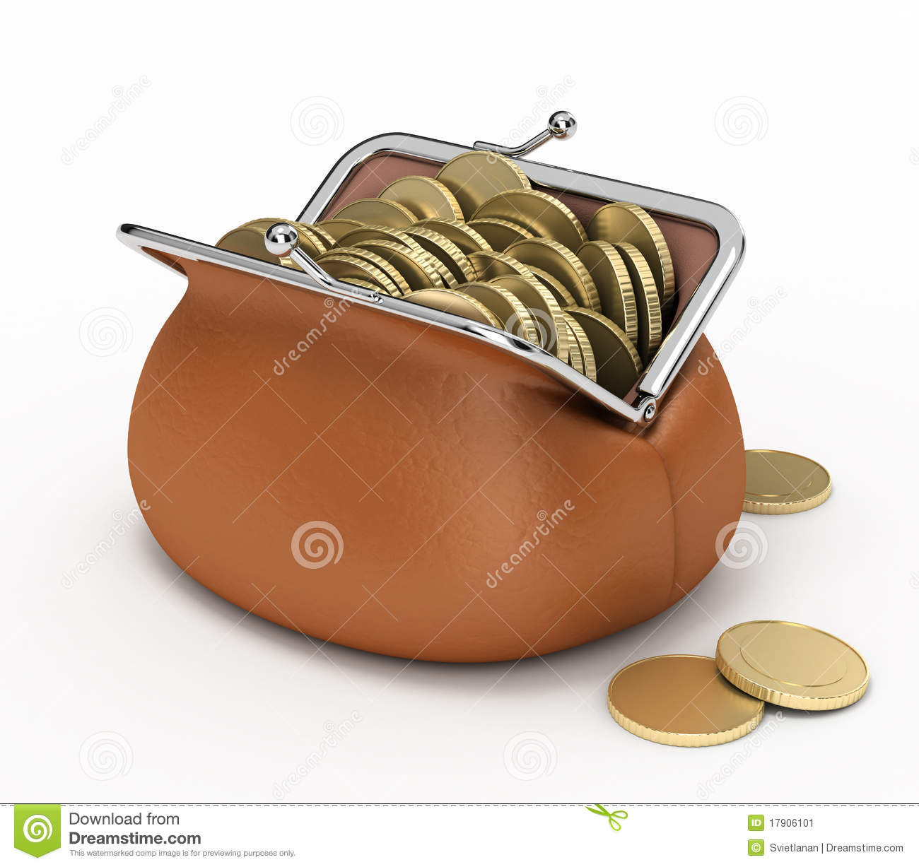 coins in peoples pockets and purses are