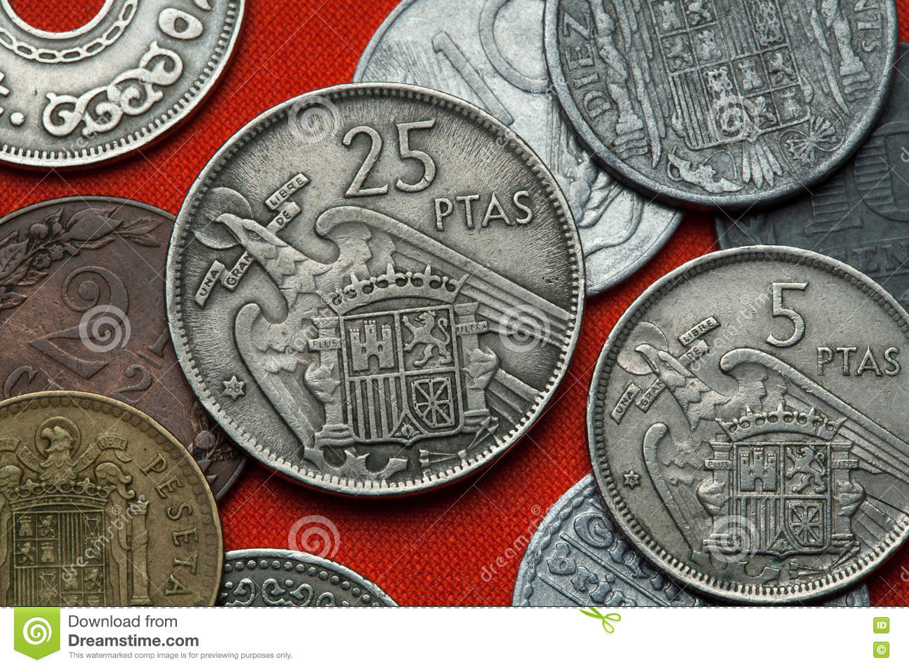 Coins of Spain under Franco