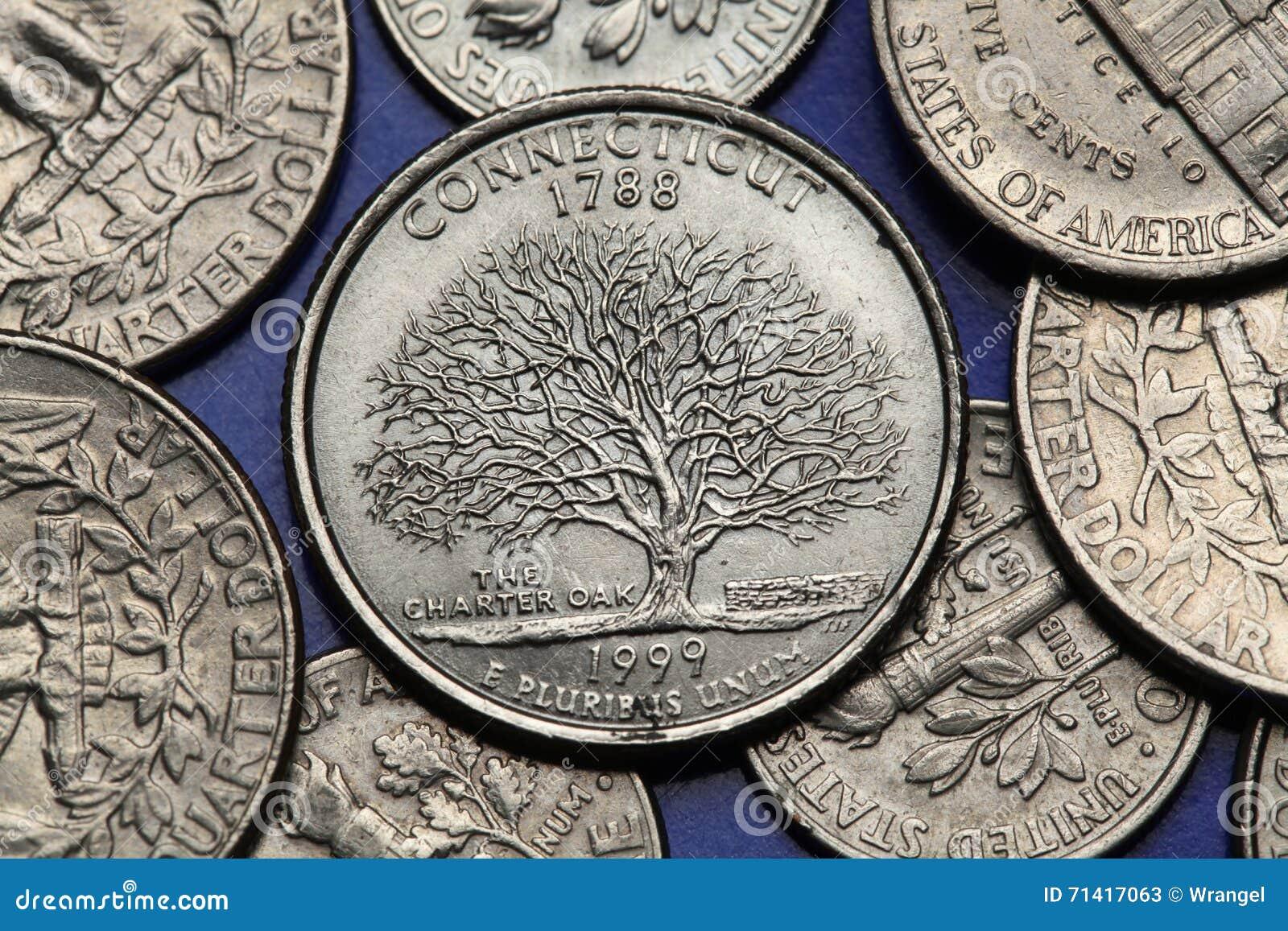 Монеты сша - стоковое фото wrangel #58786491.