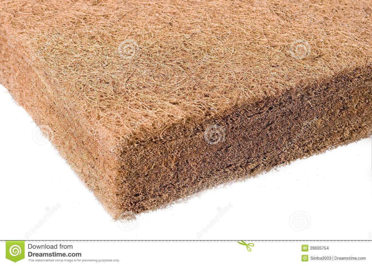Coir Or Coconut Husk Fiber Stock Photo Image Of Natural