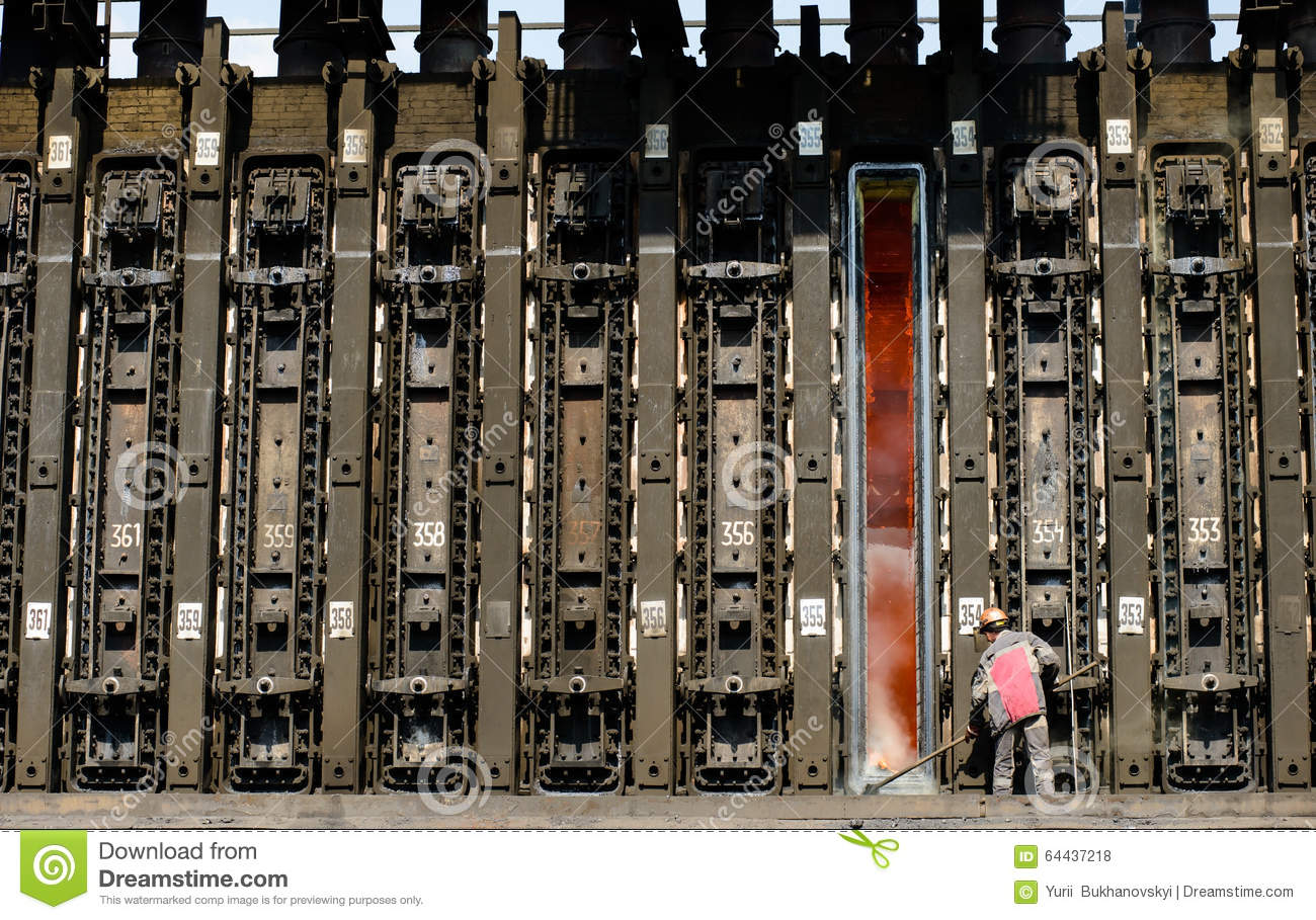 Coke Oven Battery In The Metallurgical Industry Editorial