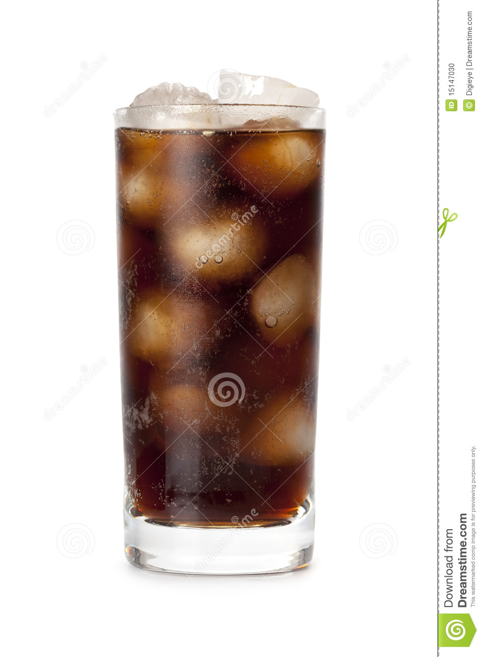 Cola - cold drink with ice