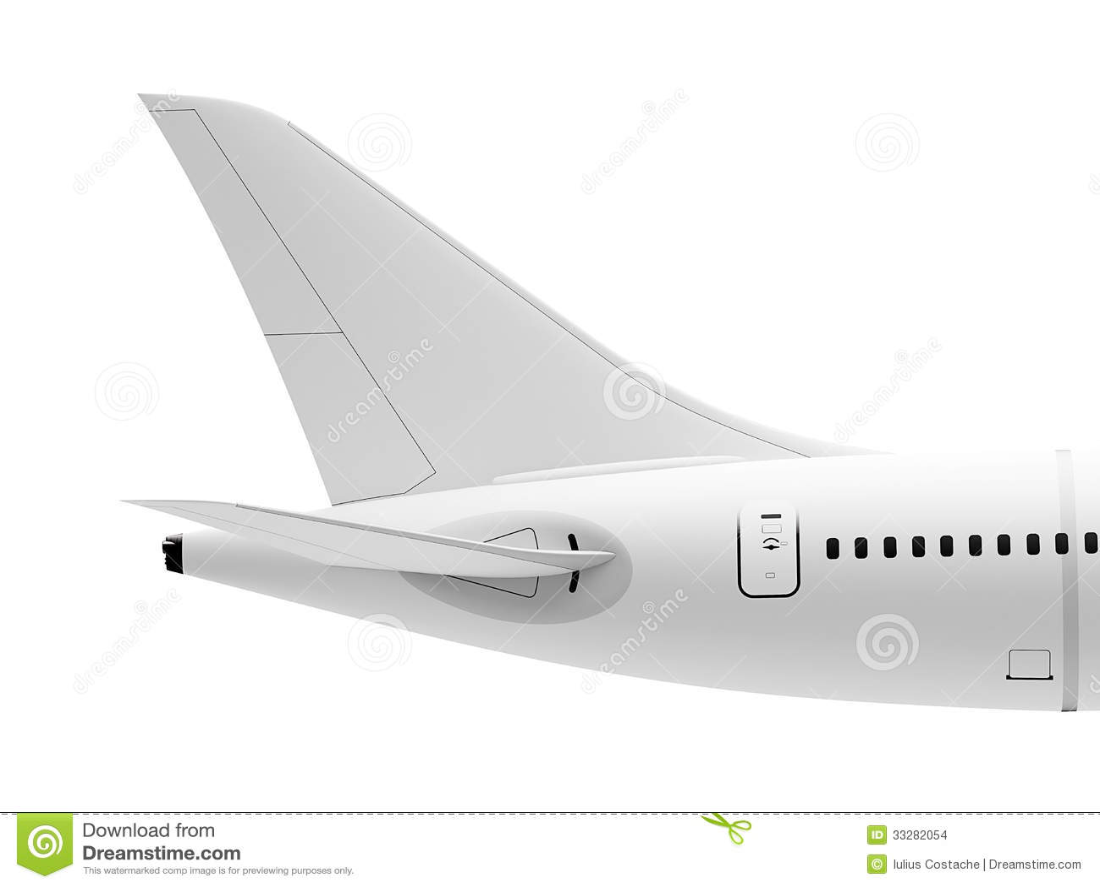 Cola del aeroplano