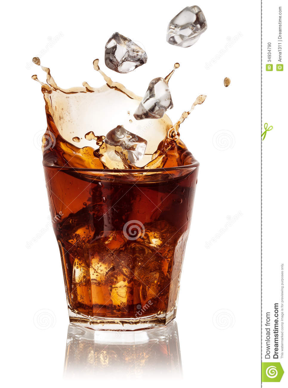cola glass with falling ice cubes on white with clipping ice cube clip art black and white ice cube clip art cute