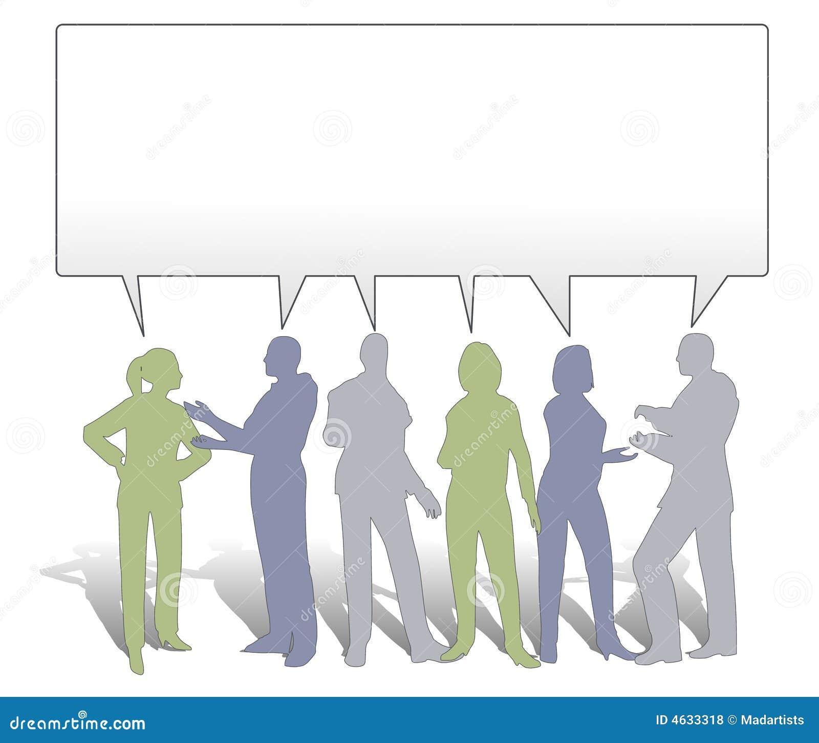 Colaboración de las personas que comparte ideas