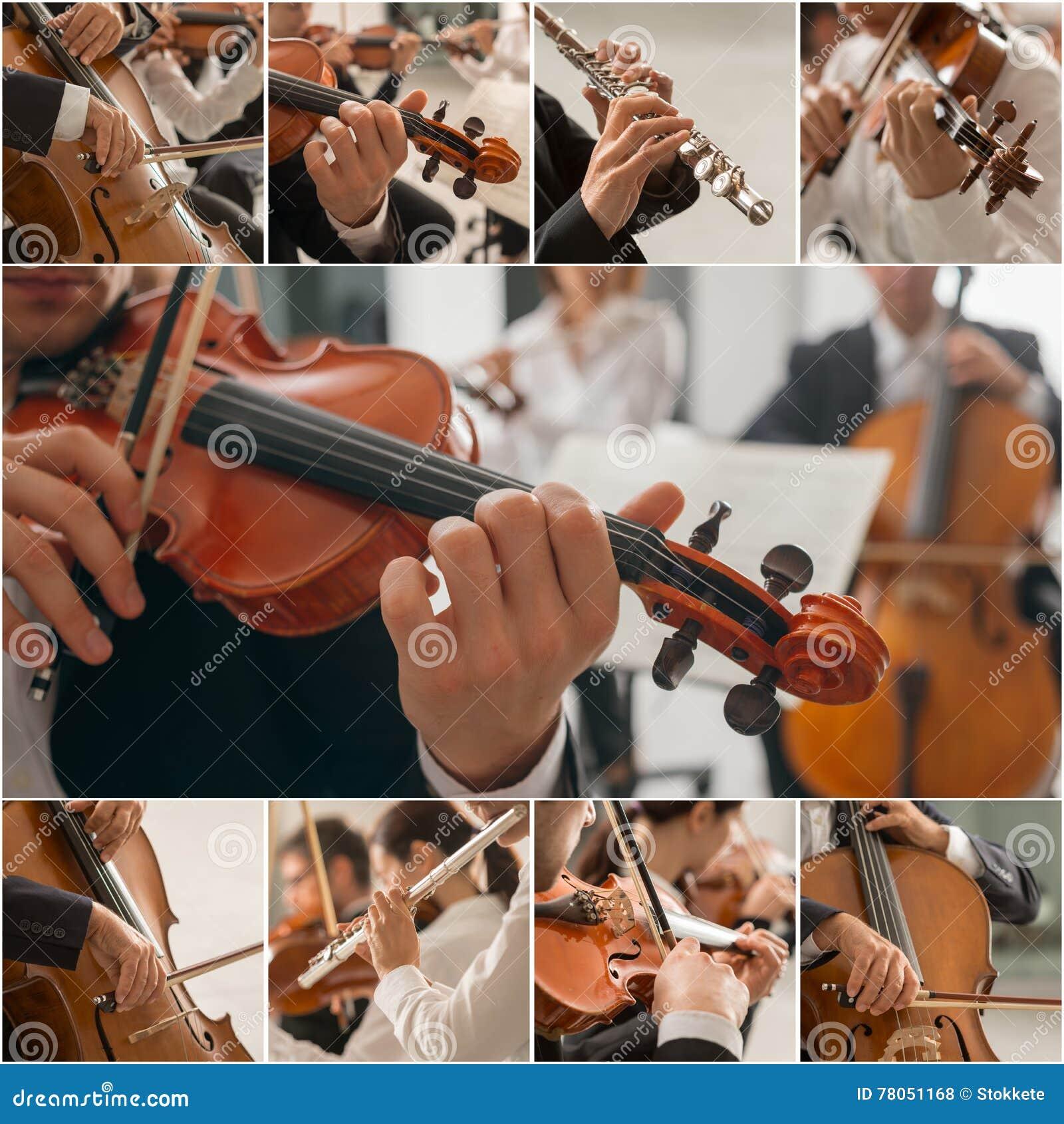 Colagem da música clássica