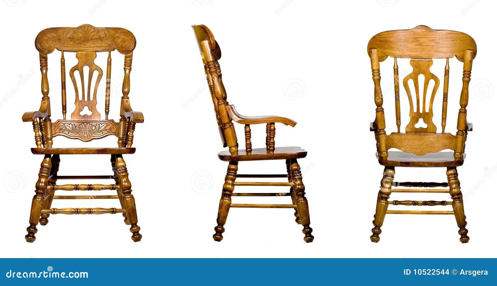 Antique wooden chairs - Imagens De Stock Colagem De 3 Opini 245 Es De Madeira Antigas Da Cadeira