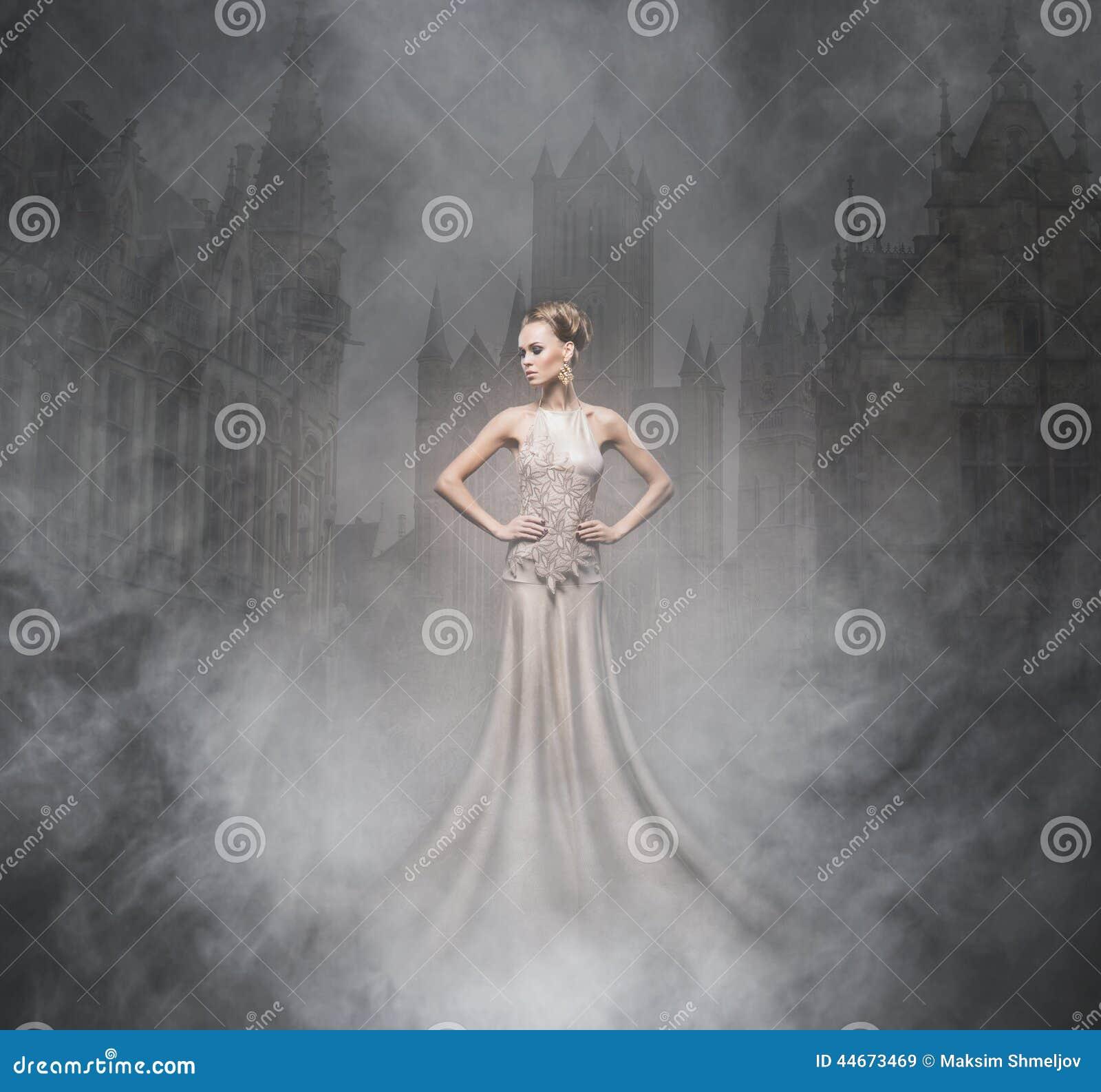 Colagem de Dia das Bruxas com um vampiro  sexy  no nighe