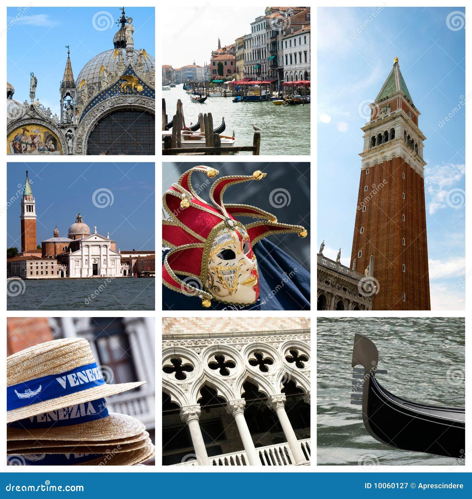 Colagem de Veneza - Italy