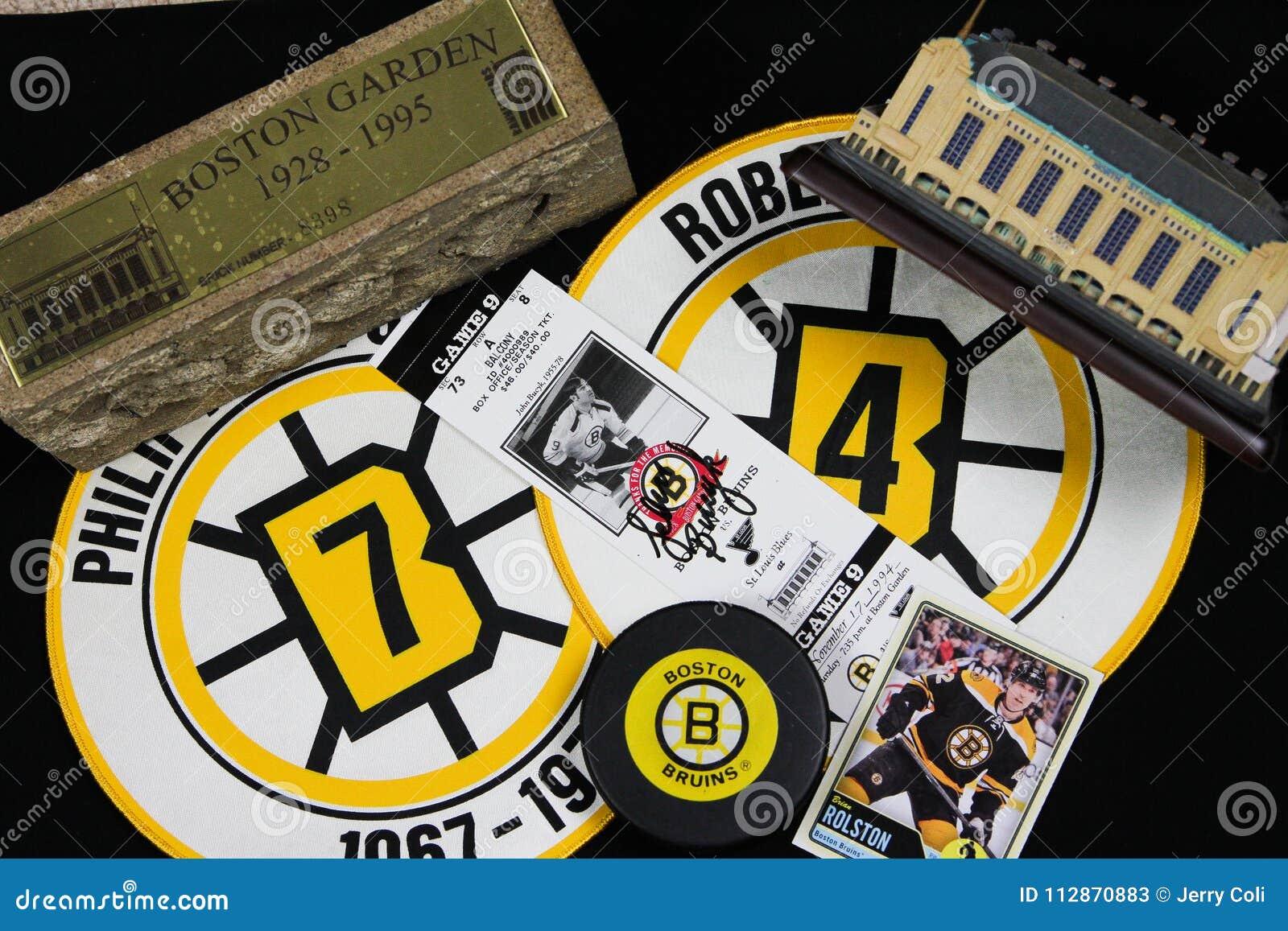 Colagem dos Boston Bruins