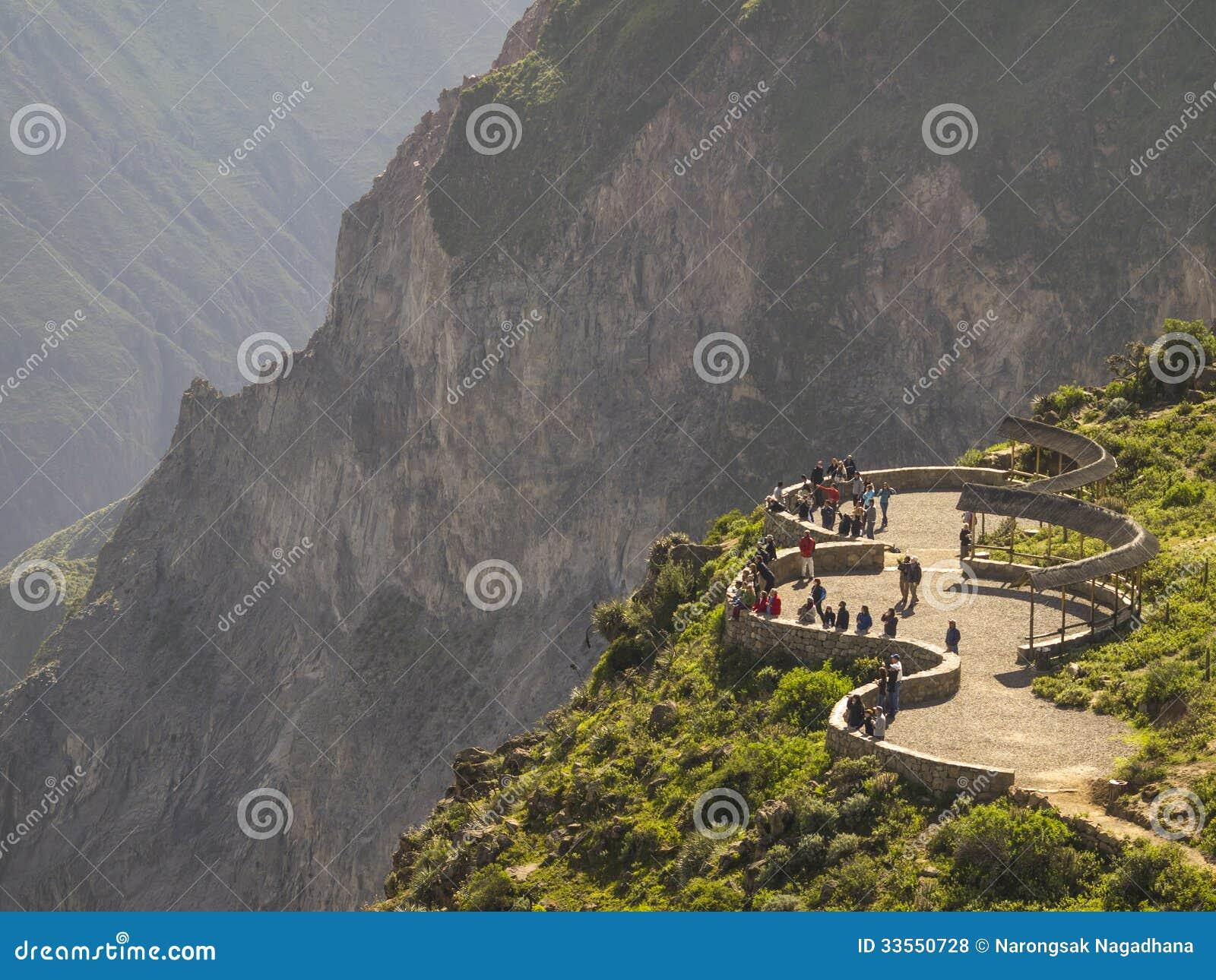 Colca canyon view point, Peru.