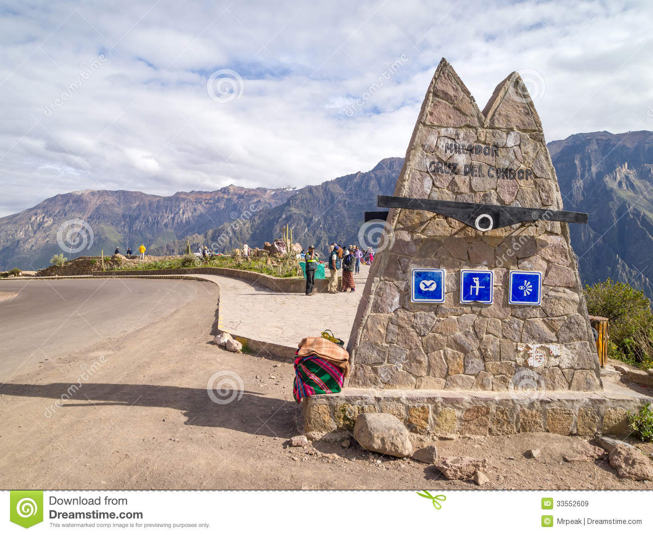 Colca canyon view point, Peru.