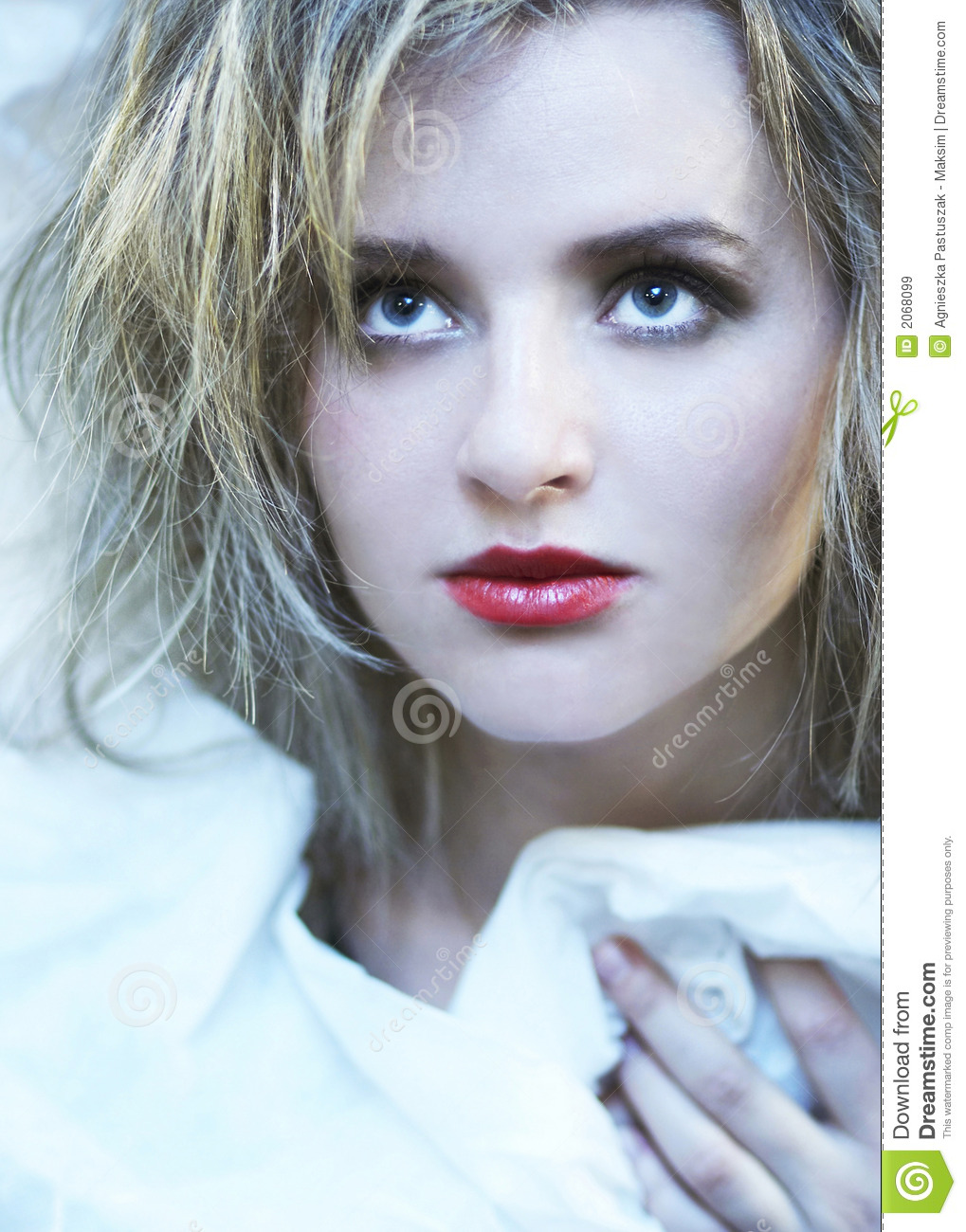 Download Cold beauty stock image. Image of beautiful, human, expression - 2068099