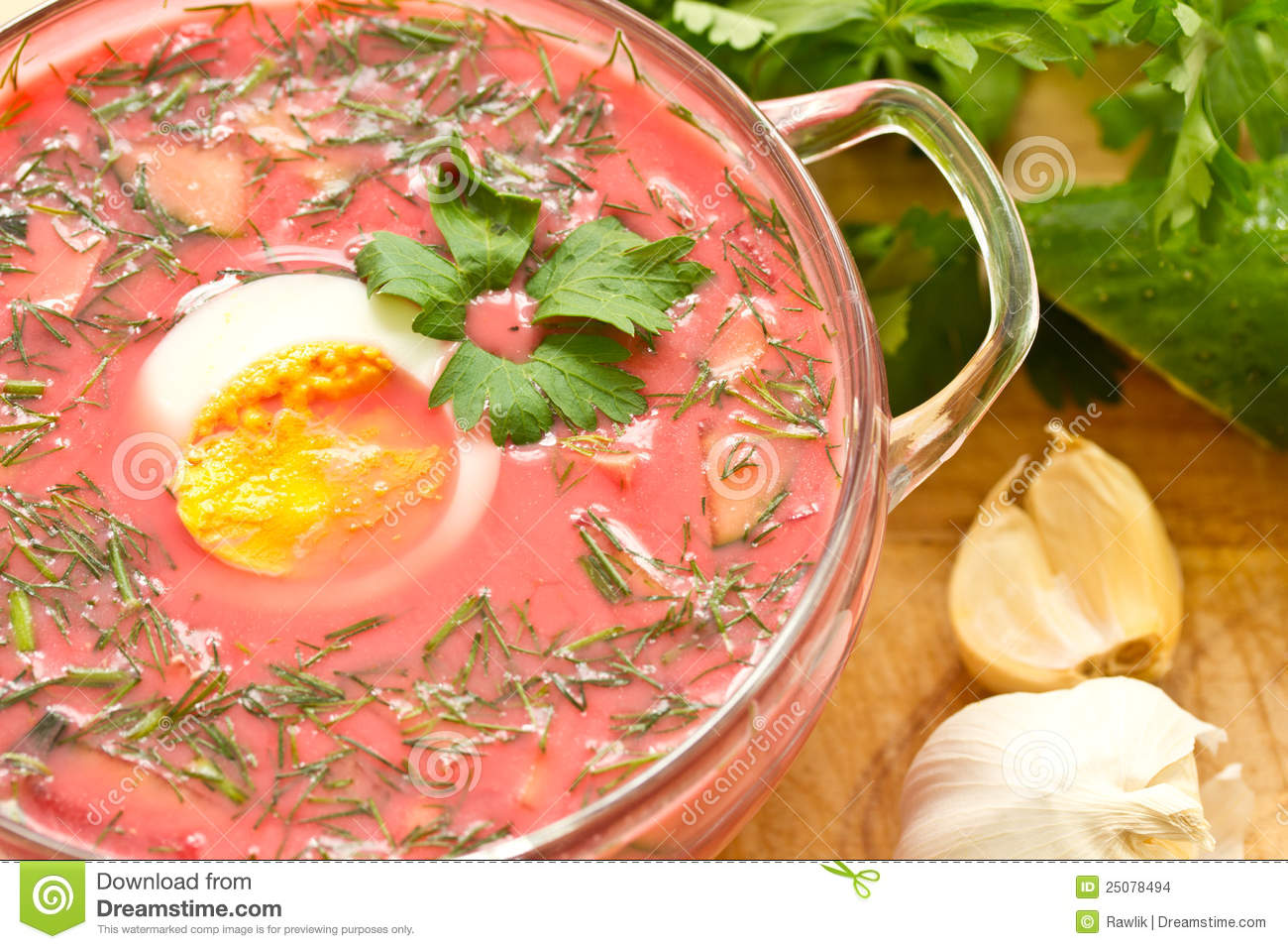 Beet Soup With Goose Stock Recipe — Dishmaps
