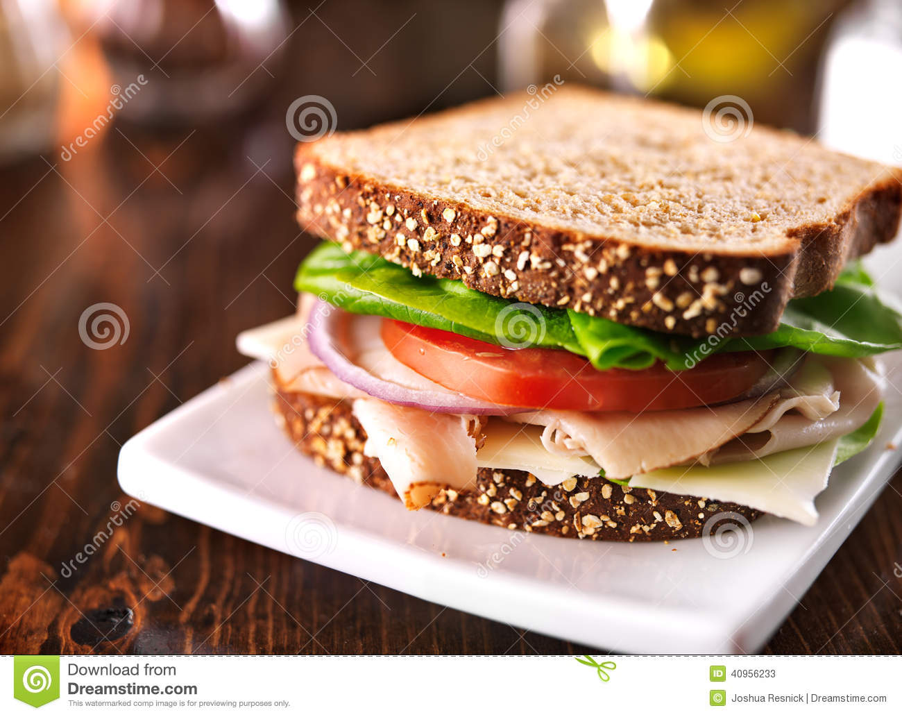 Whole Foods Ham And Swiss Sandwich