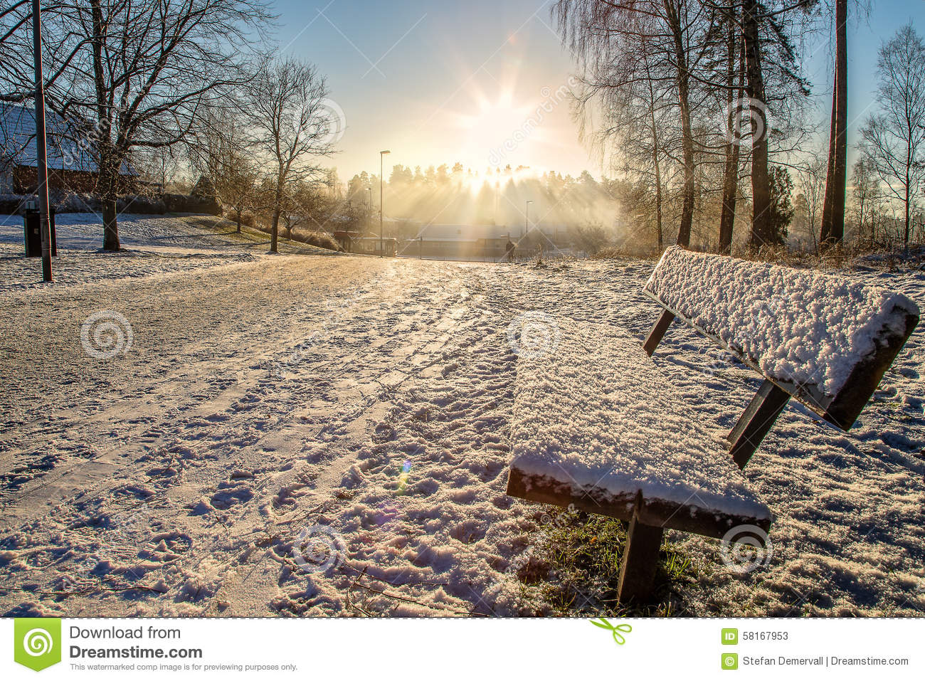 Cold Day Stock Photo - Image: 58167953