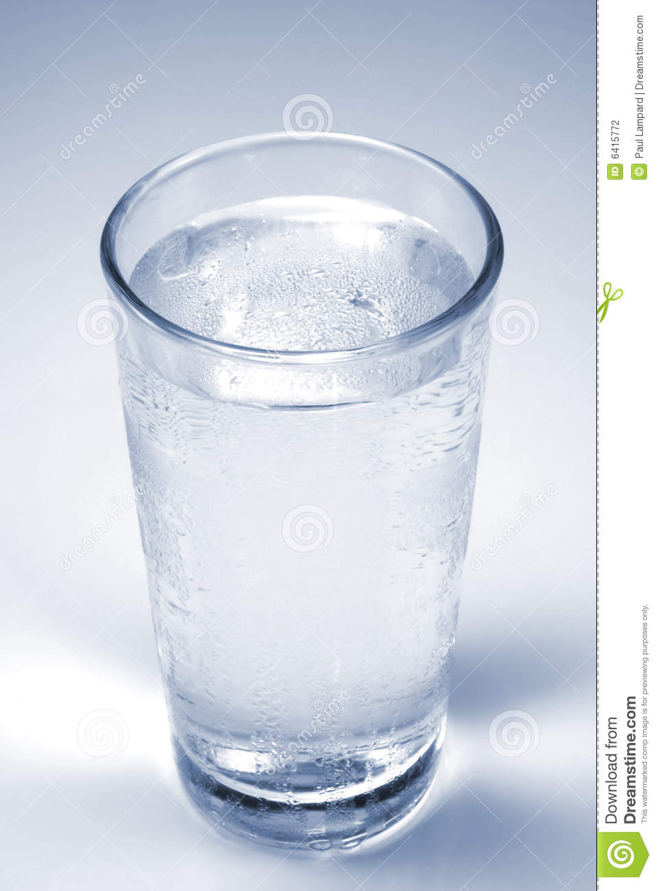 Cold Glass Of Water Stock Photography - Image: 6415772