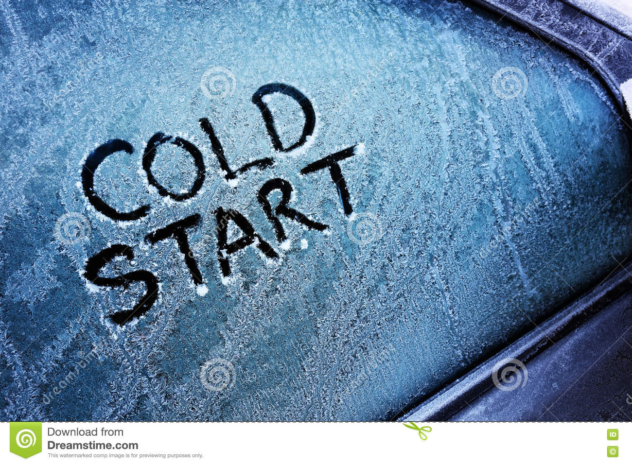 Download Cold start stock photo. Image of colour, automobile, deicer - 81629522