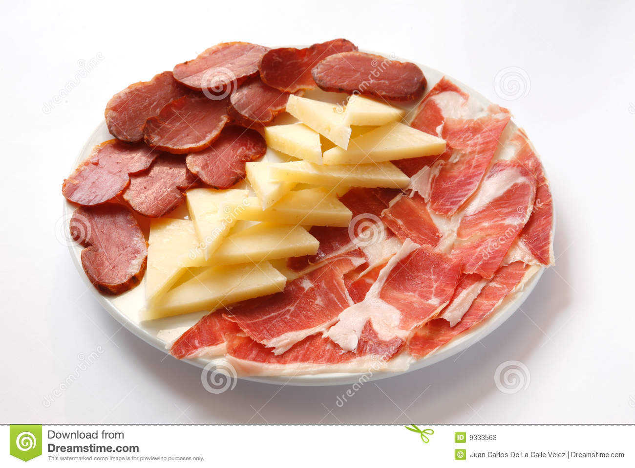 dish of spanish... Green Ham Clipart
