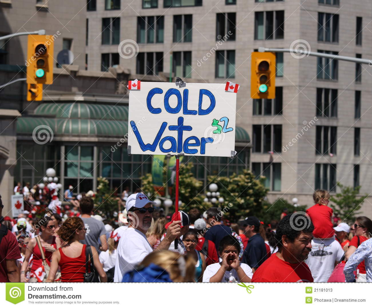 Cold Water on Canada Day