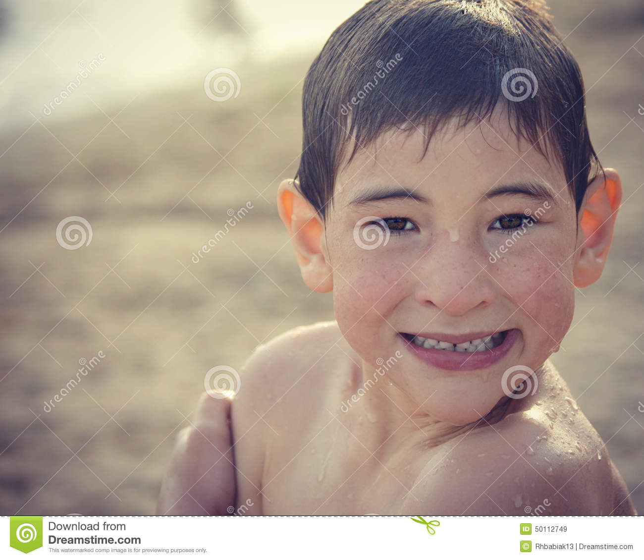 nude young boy wet