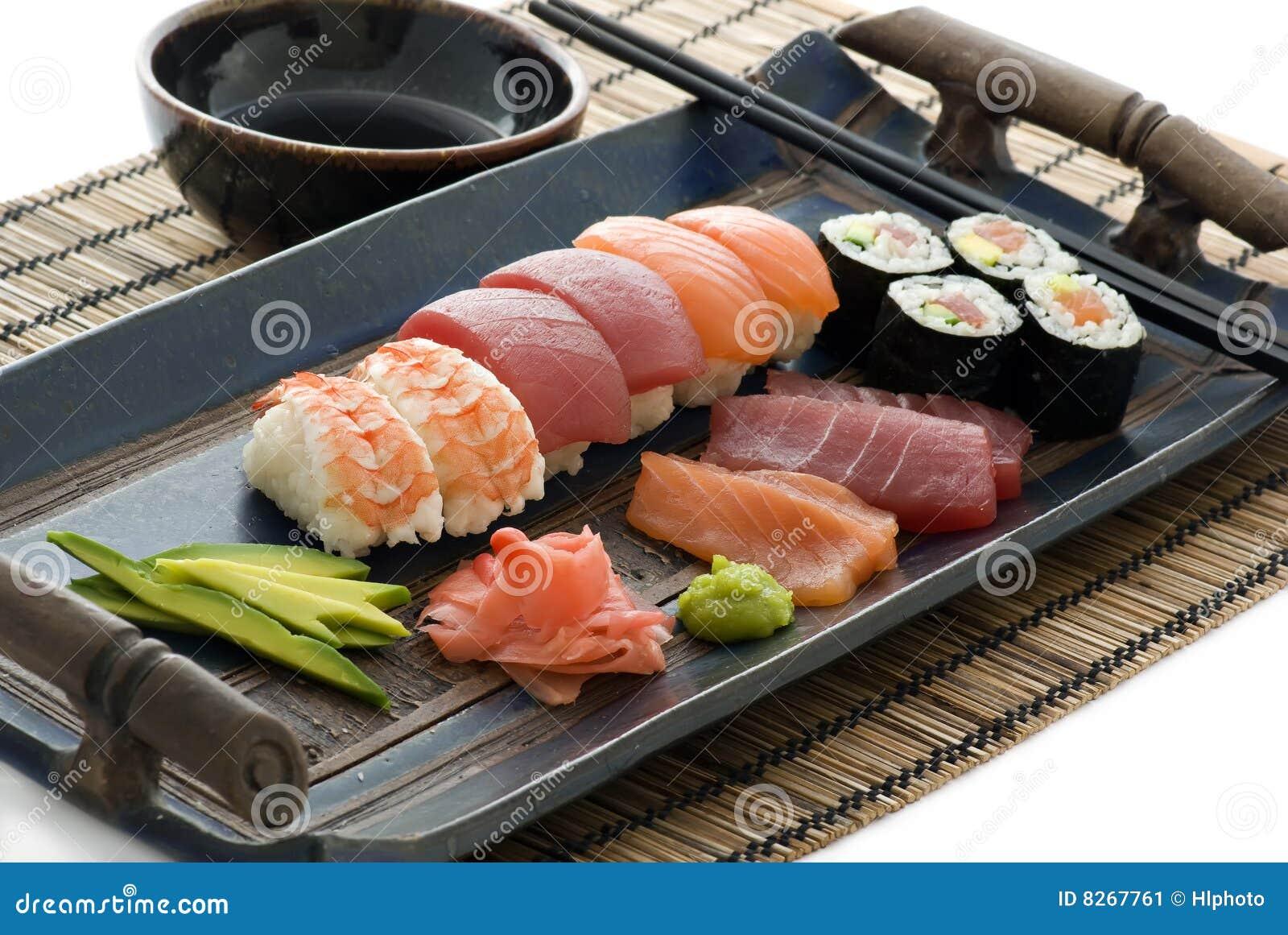 Coleção do sushi