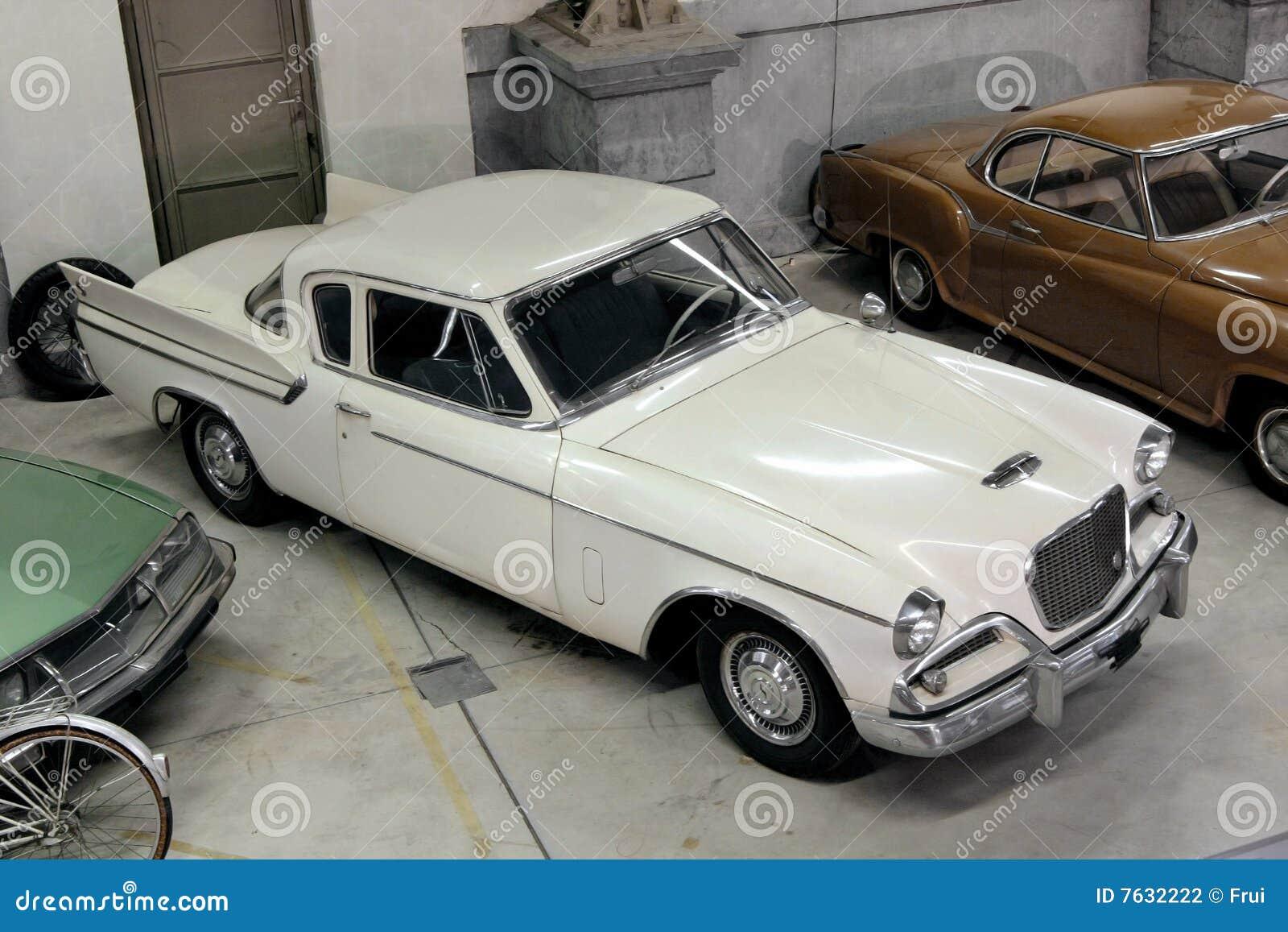 Coleção dos carros do vintage