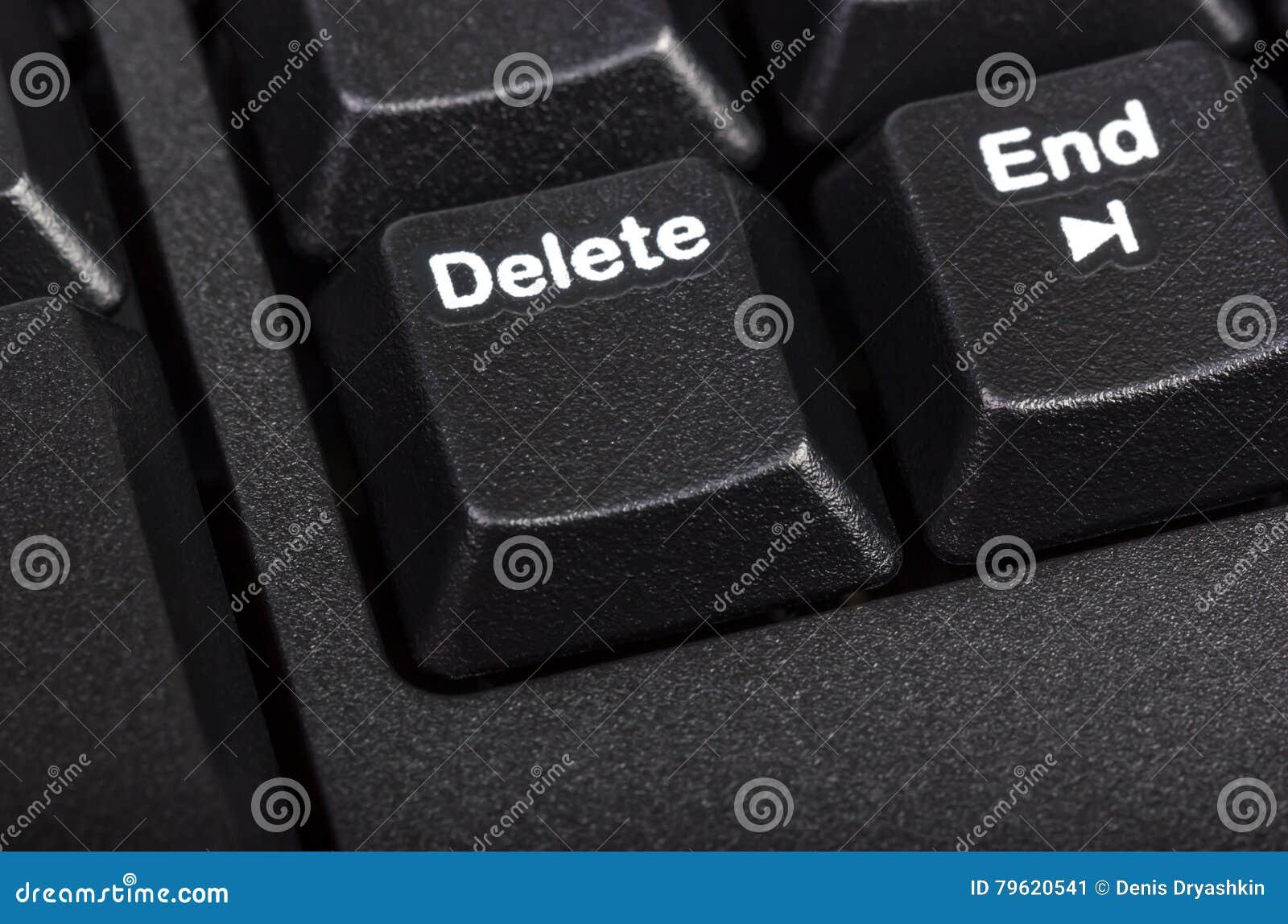 Coleção eletrônica - teclado de computador preto do detalhe